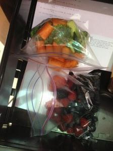 Hiding healthy snacks at work