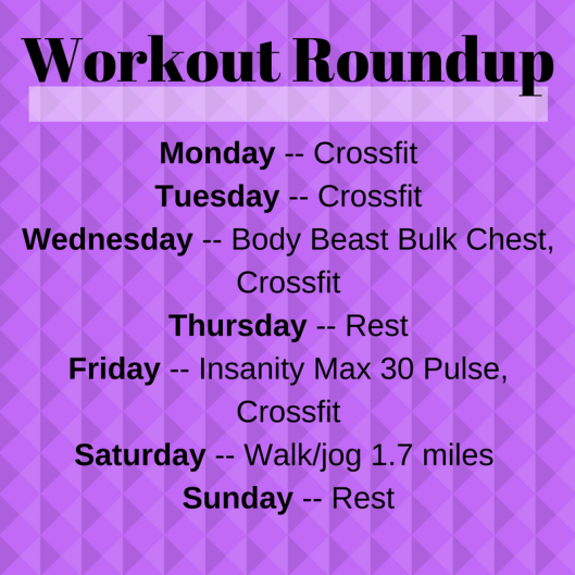 Workout Roundup