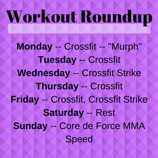 Workout Roundup (2)
