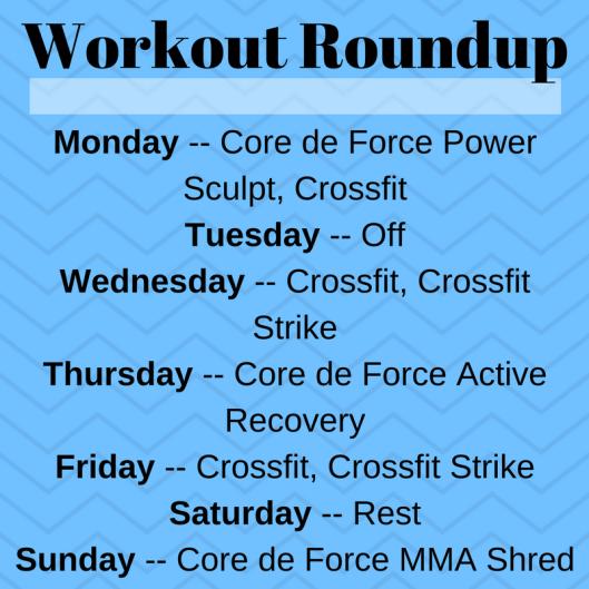 Workout Roundup (3)