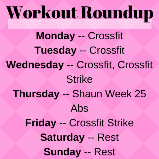 Workout Roundup (4)